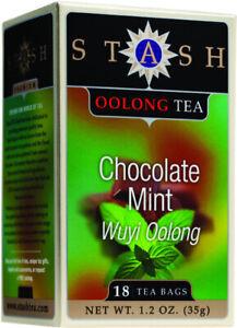 Oolong Chocolate Mint Tea by Stash, 18 tea bag