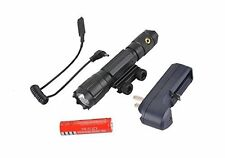 T6 LED 1000 Lumen Flashlight Compact Weapon Mounted Torch Light Lever Lock Mount
