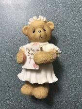 Cherished Teddies: Girl First Communion Avon Figurine. Heaven Blessed This Day