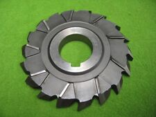 Staggered Angle Side Milling Cutter 4-3/8 x 1/2 x 1-1/4