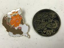 Landorus PIN + Landorus COIN  - NM -Forces of Nature Premium Collection PROMO