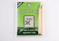 GameStash Code Breaker - Party, table top, board, travel game. Like Mastermind