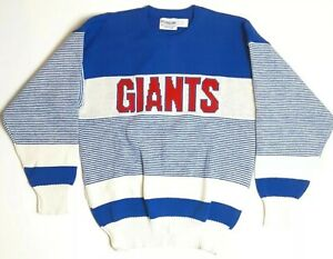 Cliff Engle Proline New York Giants NFL Football Vintage Sweater Mens Size XL