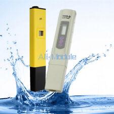 Digital Ph Meter+TDS Tester Aquarium Pool Hydroponic Water Monitor 0-9999 PPM UK