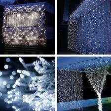 600 LED Fairy Curtain String light for Xmas Christmas Wedding Party Backdrops