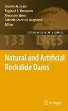Natural and Artificial Rockslide Dams 133 (2013, Paperback)