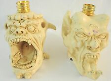 Demon Head Decorative Candle Holders
