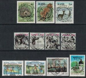 1991 Aland Islands complete year set fine used.