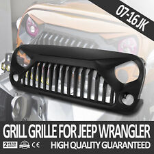 Front Angry Bird Gladiator Grille for Jeep Wrangler 2007-2018 JK&Unlimited Black