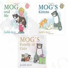 Mog's Kittens Collection(Mog and Me,Mog's Family of Cats) 3 Books Set Board book