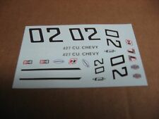 STOCK CAR or MODIFIED DECAL SET #02
