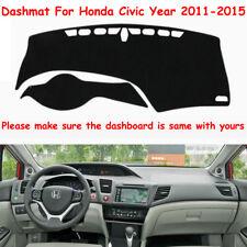 DashMat Dashboard Mat Sun Cover Fly5D dash mat For Honda Civic Year 2011-2015