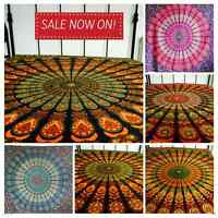Indian Tapestry Wall Hanging Mandala Throw Bedspread Gypsy Cover Boho Double