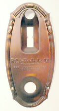 vIntage RCA RADIOLA 18 * part:  FRONT DIAL ESCUTCHEON (faceplate)
