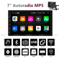 "7"" Android 8.1 2 DIN Autoradio GPS Navi Bluetooth USB Radio 4 Core 1+16G Camera"