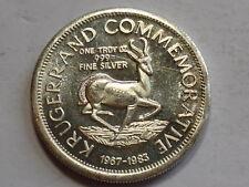 1983 Commemorative Silver Krugerrand - 1 ounce - Rare