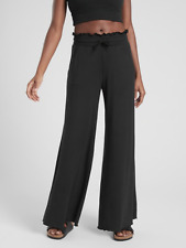 NEW ATHLETA Compose Wide Leg Pant XXS 00 | Soft! Black Yoga Pants | Sweatpants