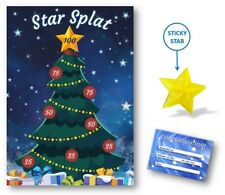 Christmas Family Game - STAR SPLAT - Family, Kids, Office Xmas Party Game