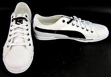Puma Schuhe Benecio Athletic Canvas Weiß/Schwarz Sneaker Größe 13