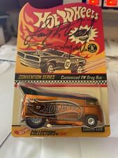 HotWheels Drag Bus GOLD 2nd Nationals Conv. RLC 1of 2,712 RARE #18 Sign by phil