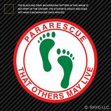 Pararescue Giant Green Feet Sticker pararescuemen pjs jolly green giant sticker