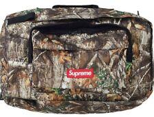 NEW SUPREME FW19 Duffle bag REAL TREE CAMO BRAND NEW 100% AUTHENTIC Box Logo
