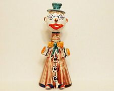 Barsottini Vino Rossi Clown Ceramic Red Wine Bottle