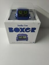 Hello I'm BOXER Interactive Robot A.I. Toy Blue Remote Controlled New Sealed