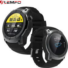 LEMFO Reloj Inteligente 2017 GPS Deporte Reloj Ritmo Cardiaco Para Android IOS