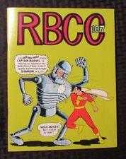 1974 Rocket's Blast ComiCollector RBCC #107 FANZINE VF+ Captain Marvel Shazam