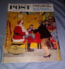 THE SATURDAY EVENING POST: December 6, 1958 **George Hughes Cover/Music Man**