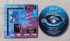 """CD AUDIO INT/ LA FÊTE DE LA MUSIQUE 91""""LES COUPS DE FOUDRE"""" CD PROMO CARD SLEEVE"""