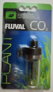 Fluval CO2 Bubble Counter #17550 for up to 50 Gallon Tanks - New