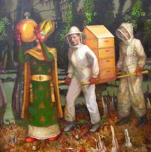 """Tabernacle of Tupelo Honey"" giclee print 28.5x28.5"