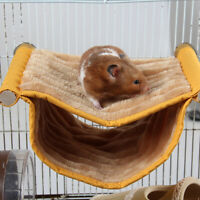 Parrot Ferret Rabbit Squirrel Garm Rat Pet Hammock Hanging Bed Cage Mat G9Z