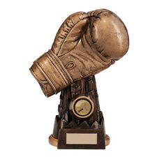 200mm 'Golden Glove' Boxing Trophy (RRP £17.50) inc free postage + engraving