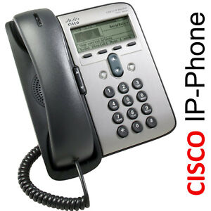 CISCO CP-7911G IP-PHONE GP7911 IP-TELEFON VoIP PHONE STROM POE ODER DIREKT CIS_1