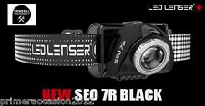 LED LENSER linterna frontal SEO 7R negra 220 lm, tienda Primeraocasion
