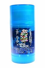 Ed Hardy Love & Luck by Christian Audigier Men 2.75 oz Alcohol Free Deodorant