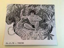 TARZAN - PHOTO 13x18 CINÉMA PRESSE du dessin Animé