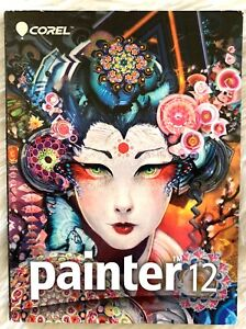 Corel Painter 12 Professional Digital Art Software Windows and Mac Compatible