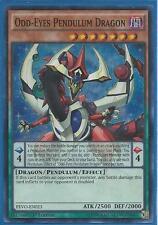 3x Yugioh PEVO-EN023 Odd-Eyes Pendulum Dragon Super Rare 1st Edition Card