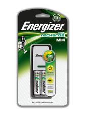 Mini Cargador UE Energizer Recarga baterías NiMH AAA & AA recargables enchufe de la UE