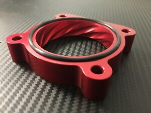 (X713-SR) RED Throttle Body Spacer for 2003 - 2009 Mazda RX8