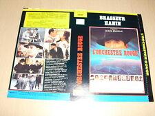 JAQUETTE VHS L'Orchestre rouge Claude Brasseur Roger Hanin Jacques Rouffio
