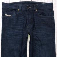 Mens DIESEL Buster Jeans W30 L30 Dark Blue Regular Slim Tapered Wash 0823K