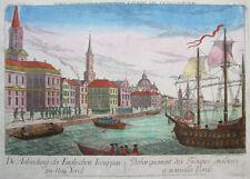 Original Grafiken & Drucke aus Nordamerika vor 1800 mit Kupferstich-Technik
