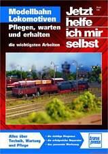 Fachbuch Modellbahn Lokomotiven, Pflegen – Warten – Erhalten, tolles Buch, NEU