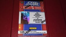 2010-11  Panini Score Traded Hockey 105 Card  Box Set  1 Rookie Auto Guaranteed