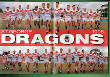 #GG.  BIG LEAGUE MAGAZINE 27 MAY- 2 JUNE 1998 - ST. GEORGE DRAGONS PINUP